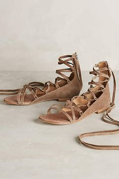 Belle by Sigerson Morrison Appa Gladiator Sandals - anthropologie.com