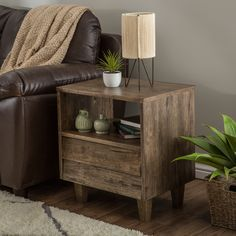 If you're finding that your space needs more, well, space, then this Venetian single-drawer end table is the perfect complement. Featuring a single drawer, shelf and surface space, this end table is perfect for storing and displaying your favorite items.