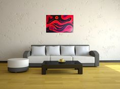 Hey, I found this really awesome Etsy listing at https://www.etsy.com/listing/77649001/large-modern-abstract-wall-art-home