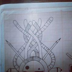 Lembrando que esses desenhos estão sendo disponibilizados pra tatuagem ... Com @sanktattoo  @netofurone  @sins_one @zureta_gt e @iel_estacio #tecnorganics #bomdia #desenhos #draw #riscos #boceto #body #pele #tattoo #papelmilimetrado #unipin #nankin #staedler #creative #design #ixlutx #textura #artist