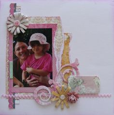Imagination page created with Madeleine collection for BoBunny Club Kits. Visit www.myscrappinshop.com.au to find out more. #BoBunny