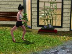 When you buy a new pair of heels and can't walk in them. | 21 Sims Reactions For Everyday Situations