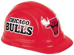 NBA Chicago Bulls Hard Hat - http://weheartchicagobulls.com/bulls-fan-shop/nba-chicago-bulls-hard-hat