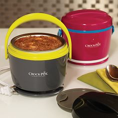 9 Time-Saving Products That Make Lunch More Delicious | Everyday Health...Crock-Pot Lunch Mini Pot. I want one!