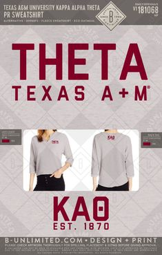 #KappaAlphaTheta #Sorority #GreekLife Kappa Alpha Theta, Greek Clothing, Greek Life, Custom Clothes, Sorority, Print Design, Gems, Sweatshirts, Coat