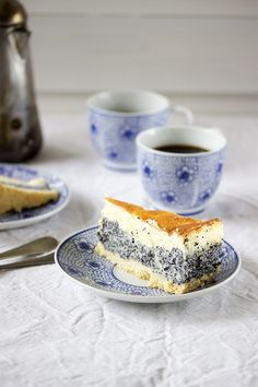 Poppy Seed Sour Cream Cake.  Don't eat this if you are subjected to drug testing.  You will get a positive result.