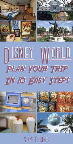 Thinking about taking a trip to Walt Disney World? Well many people who are inexperienced with all the in�s and out�s of the �Steps To Magic� way of doing things!