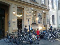 Fahrradladen am Kollwitzplatz im Prenzlauer Berg