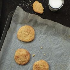 """Grandma Ruth's Snickerdoodle Cookies 