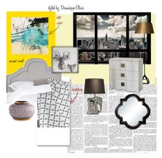 """Urban City Bedroom"" by theclosetchameleon on Polyvore"