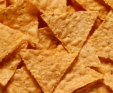 Corn Chips. These work really well for me when hiking. Probably because they have a lot of salt, and they are gluten-free.