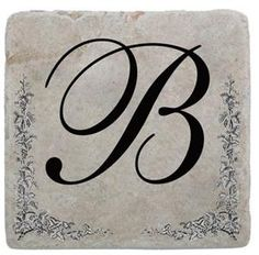 Marble Coaster With Initial All Letters Available @classiclegacy #initial #classiclegacy #marblecoaster