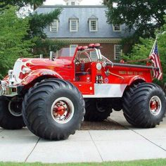 The ultimate firetruck.... Yes....yes.....yes.......!!!!!!!