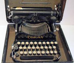 Vintage Corona Portable Typewriter
