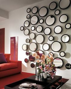 22 Great Decorative Mirrors for your Home #mirrors #home