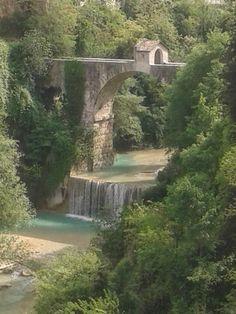 Italy : Piediluco lake Terni Umbria