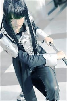 Pretty amazing Kanda Yuu cosplay (D.Gray Man)