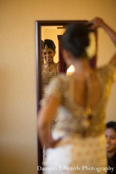 indian wedding portrait getting ready bride http://maharaniweddings.com/gallery/photo/11390