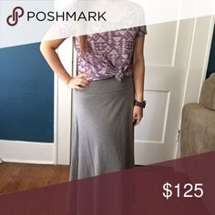 BNWT Lularoe Maxi and Classic T, XS Love this Lularoe outfit! The Classic T is so amazingly soft!!! And it compliments the maxi skirt perfectly! For more information on the individual pieces of this outfit, please check out the next two listings.* LuLaRoe Skirts Maxi