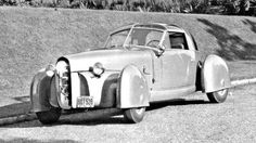 "Today's feature is the 1948 ""Tasco"" that is shown is rare large-sized photos taken by Derham, the coachbuilder that constructed the body and fenders. Included is the story behind it, a video of the car in action and the patent drawings at TheOldMotor.com"