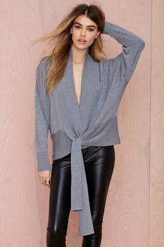 Nasty Gal Tangled Up Cardigan