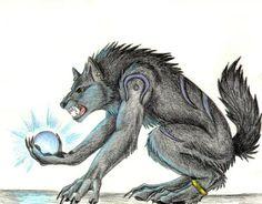 Werewolf with Sapphire - Fantasy Wallpaper ID 38190 - Desktop Nexus Abstract