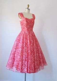 copper wedding dresses  Copper Taffeta 1950&39s Party Dress - Love ...