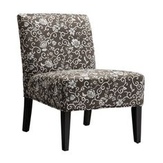 @Overstock.com - Decor Floral-print Lounge Chair - Accent any room with this floral-print lounge chair. This hardwood chair has an armless, contemporary style and complements most decor styles. The high-density foam cushion ensures maximum comfort, while the eye-catching print creates a modern look.  http://www.overstock.com/Home-Garden/Decor-Floral-print-Lounge-Chair/4862318/product.html?CID=214117 $123.99