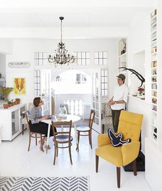 Why compact living is a clever choice. For more, visit houseandleisure.co.za Small Space Solutions, House Yard, Big And Small, Compact Living, Small Places, Small Space Living, White Decor, Sustainable Living, Small Apartments
