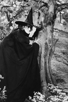 Margaret Hamilton as the Wicked Witch of the West in the 1939 MGM feature film The Wizard of Oz . Retro Halloween, Fall Halloween, Halloween Halloween, Halloween Makeup, Wicca, Margaret Hamilton, Wizard Of Oz 1939, The Worst Witch, Witch Art