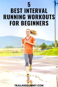 Interval Running Workouts, Hiit Interval, Speed Workout, Best Trail Running Shoes, Running Tips, Running Training, Running For Beginners, How To Start Running, Workout For Beginners