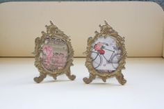 Hey, I found this really awesome Etsy listing at https://www.etsy.com/listing/482894980/art-nouveau-picture-frames-matching