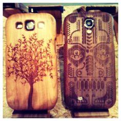 Echte houten telefoon hoesjes. Real Wooden  Telephone cases