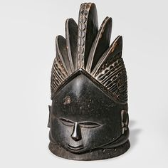 Sierra Leone, Mende Sande culture, 19th century. Carved wood
