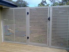 Fixed Louvred Screens in Perth by Boundaries Australia - Fencing, Screening & Balustrading in Western Australia