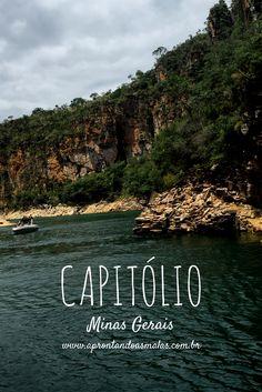 Conheça um pouco do passeio de Chalana em Capitólio, Minas Gerais!