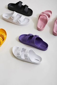Cute Shoes Flats, Baby Shoes, Chunky Sneakers, Fashion Sandals, Strappy Sandals, Open Toe, Women Accessories, Slip On, Gel Pens