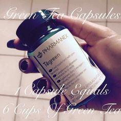 😊 Tegreen Capsules, Green Tea Capsules, Beauty Skin, Health And Beauty, Speed Up Metabolism, Green Tea Benefits, Antioxidant Vitamins, Green Tea Extract, Beauty Magazine