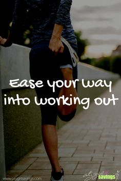 """Everyone feels major motivation at the start of a new year, but that typically fades after the first few weeks. The CGS Team is sharing a few tips to help you ease your way into working out so that goal lasts throughout the year. New article """"Ease Your Way Into Working Out"""" up now at http://citygirlsavings.com/ease-way-working/ #fitness #motivation #healthy #lifestyle #active"""