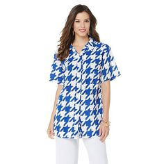 """Antthony """"Master Tide"""" Button Down Top"""