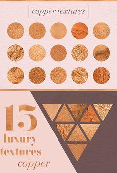 Luxury Copper Textures