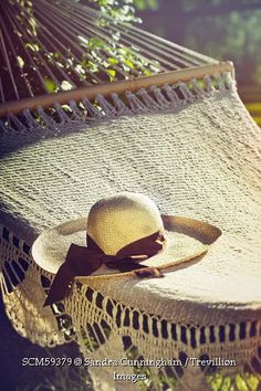 Trevillion Images - close-up-of-lace-hammock-in-summer