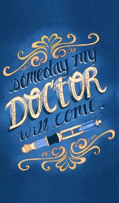Someday My Doctor Will Come~ Art Print by Krissy Diggs