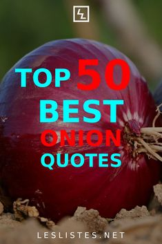 Onions are tasty, but can also make your breath stink. With that in mind, check out the top 50 onion quotes. #onion Bermuda Onion, How To Cut Onions, Wild Onions, Mr Potato Head, Onion Sauce, Figure Of Speech, Sour Cream And Onion, Bad Food, One Liner