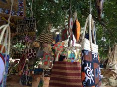 Small business crafters, Maputo market (2)