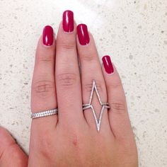 Kylie Jenner inspired rings today