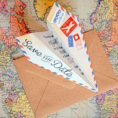 20 Printable Travel Wedding Invitations | SouthBound Bride