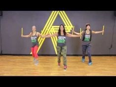 "REFIT® DANCE FITNESS, ""GIRLFRIEND"" Avril Lavigne (KidzBop Version) WITH STICKS - YouTube"