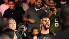 10/6/14: John Cena and Dean Ambrose get their hands on Seth Rollins