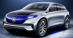 Mercedes EQ Electric Compact Confirmed For Production Starting 2019 #Electric_Vehicles #Mercedes
